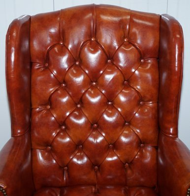 Superb Vintage Chesterfield Wingback Armchair Home Interior And Landscaping Sapresignezvosmurscom