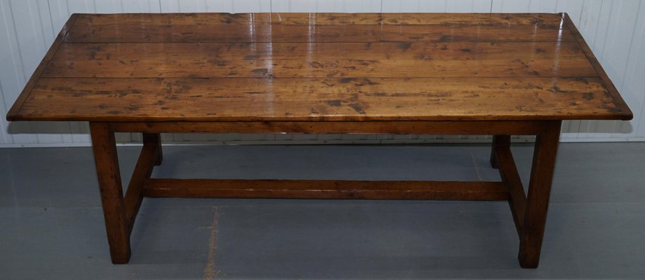 French Fruitwood Dining Table 1980s
