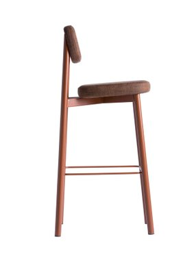 Outstanding Residence Bar Stool By Jean Couvreur For Kann Design Evergreenethics Interior Chair Design Evergreenethicsorg