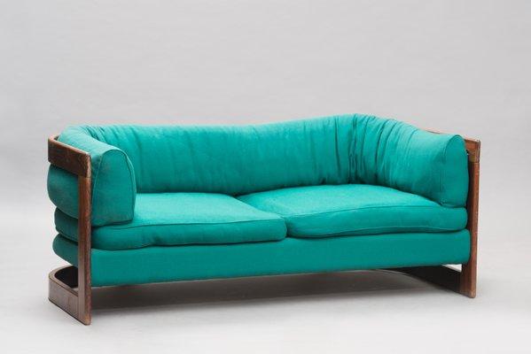Swedish Rosewood Set With 2 Seater Sofa