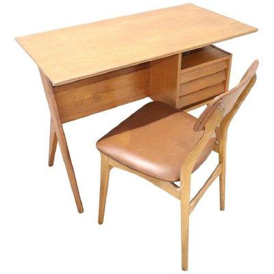 Mit Gio Stuhl Schreibtischamp; Set Ponti1960er Von LzMVGUpqS