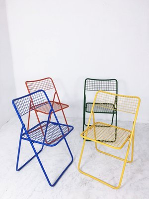 Ikea Sedie Pieghevoli Ed Impilabili.Sedie Ted Net Pieghevoli Di Niels Gammelgaard Per Ikea Anni 70