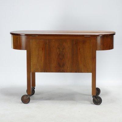 Furniture Furniture Art Deco Desk Chrome Liner Professional Design