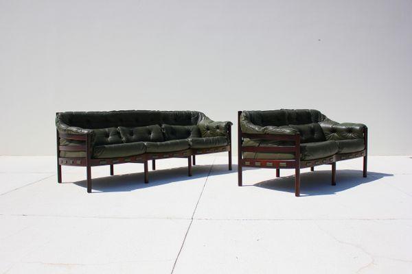 Super Vintage Sofa Loveseat Set By Arne Norell For Coja 1960S Uwap Interior Chair Design Uwaporg