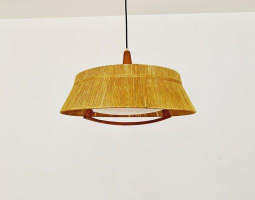 Lampe Détails Temde1960s Abat Suspension En Bois Noyer De À Et Avec Jour n0XNwk8OP