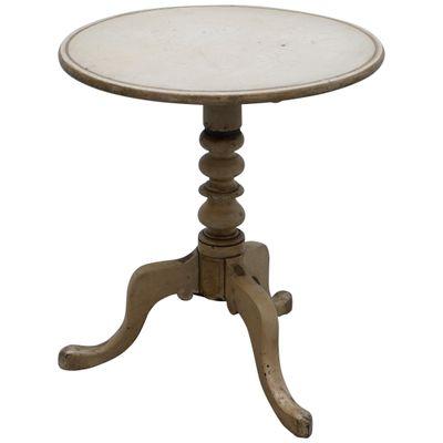 Bon Antique Victorian Tripod End Table