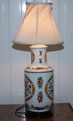 Antique Chinese Table Lamp 1