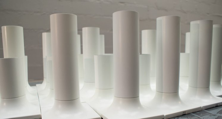 Staff Leuchte Lampe Design Rolf Krüger