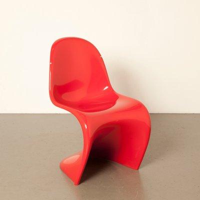 Roter Panton Chair Von Verner Panton Für Vitra 2006 Bei Pamono Kaufen