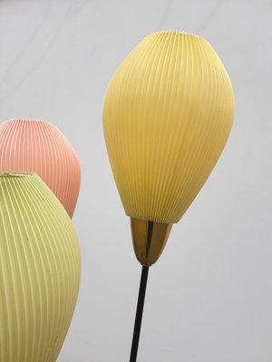 Balloons Tripod Floor Lamp 1950s 2