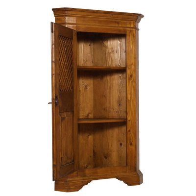 Antique Tyrolean Solid Pine Corner