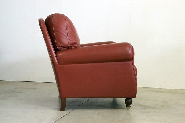 Poltrone Frau Vintage.Vintage Armchairs From Poltrona Frau Set Of 2