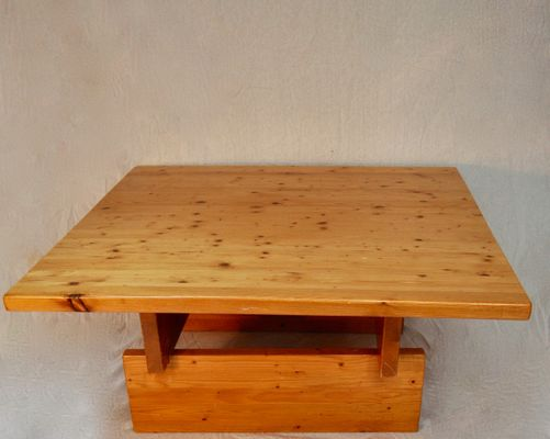 Solid Pine Coffee Table.Solid Pine Coffee Table By Roland Wihelmsson 1960s