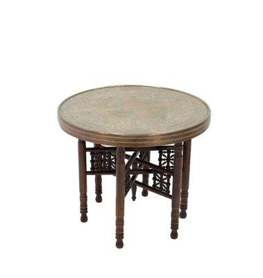VintageMaroc1920s Pliable d'Appoint Table Pliable Table Table VintageMaroc1920s VintageMaroc1920s d'Appoint Pliable Table d'Appoint IYf7gb6yvm