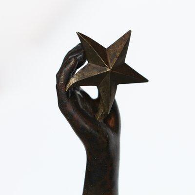 Antique Letoile Du Matin Sculpture By Adrien Etienne Gaudez