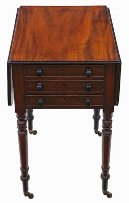 Antique Drop Leaf Table >> Antique Drop Leaf Side Table For Sale At Pamono