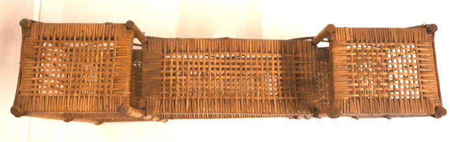 on sale d530e af7c5 Vintage Wicker Bookcase