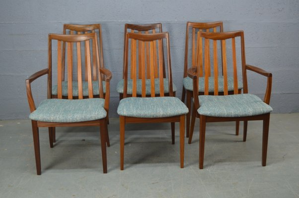 Marvelous Mid Century Dining Chairs From G Plan Set Of 6 Dailytribune Chair Design For Home Dailytribuneorg