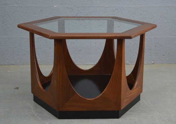 Table Basse Hexagonale Mid Century Par Victor Wilkins Pour G Plan