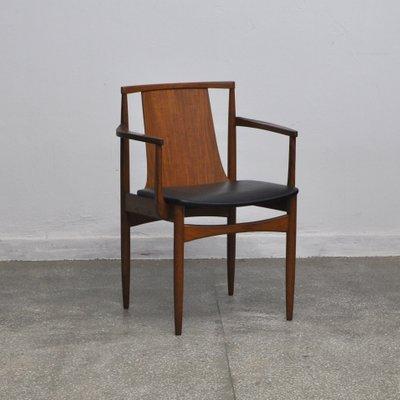 Teak Desk Chair 1960s 1