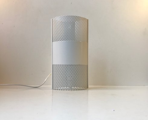Applique vintage minimalista bianca di david s lampe danimarca