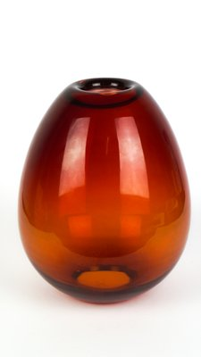 Red Murano Gl Vase Or Candle Holder