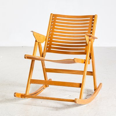 Amazing Rex Rocking Chair By Niko Kralj For Impakta Les 1970S Andrewgaddart Wooden Chair Designs For Living Room Andrewgaddartcom