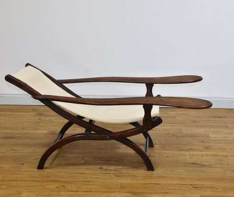 Marvelous 19Th Century Colonial Teak Plantation Chair Dailytribune Chair Design For Home Dailytribuneorg