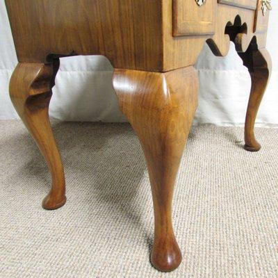Antique Queen Anne Walnut Side Table