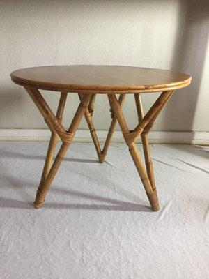Tavolino In Vimini.Tavolino Da Caffe In Vimini Anni 60