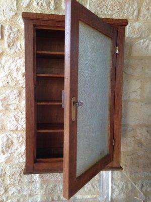 Vintage Medicine Cabinet With 4 Shelves