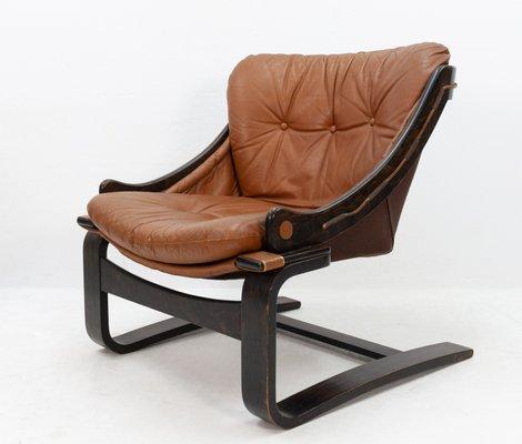 Admirable Danish Leather Lounge Chair 1964 Ibusinesslaw Wood Chair Design Ideas Ibusinesslaworg