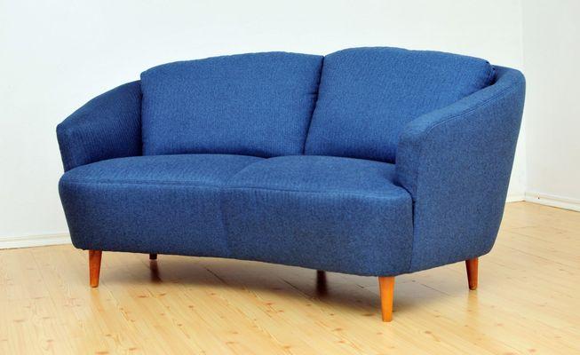Mid-Century 2-Seater Banana Sofa, 1950s for sale at Pamono