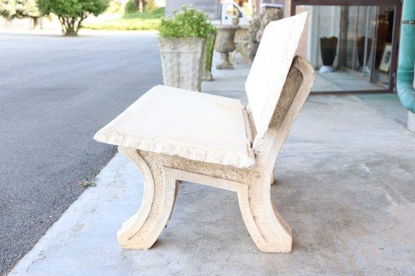 Tremendous Outdoor Cement Garden Bench 1930S Uwap Interior Chair Design Uwaporg