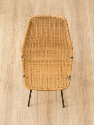 Delicieux Vintage Wicker Chairs, 1950s, Set Of 2