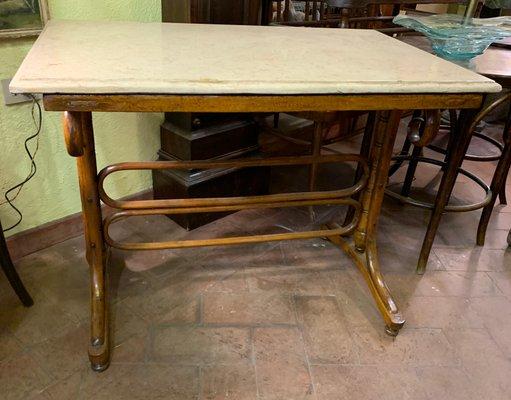 Table De Bistrot Modele 12 Vintage De Thonet En Vente Sur Pamono