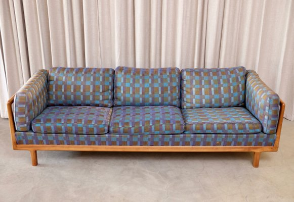 Superieur Walnut Sofa By Folke Ohlsson For DUX, 1960s