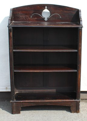 Small Oak Open Bookshelves 1940s