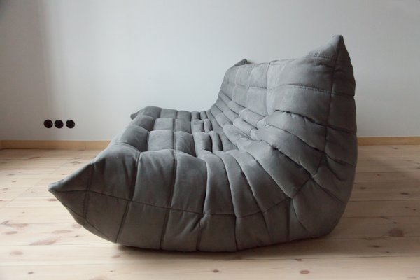 Fine Togo Grey Microfiber 3 Seater Sofa By Michel Ducaroy For Ligne Roset 1970S Pdpeps Interior Chair Design Pdpepsorg