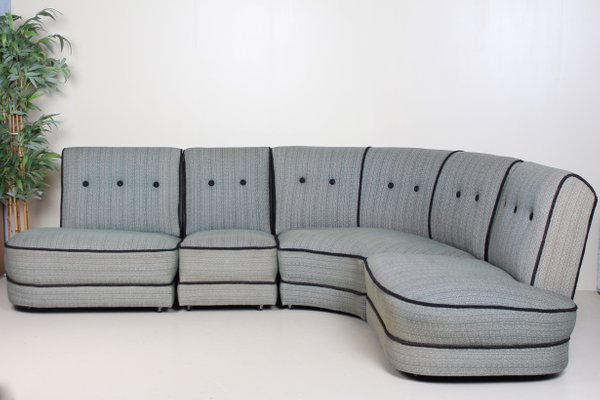 Vintage Danish Modular Corner Sofa