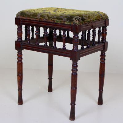 Fantastic 19Th Century Victorian Mahogany Piano Stool Ocoug Best Dining Table And Chair Ideas Images Ocougorg