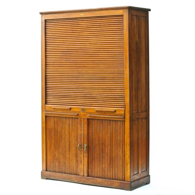 Extrem Vintage Schrank mit Rolltür bei Pamono kaufen QD05