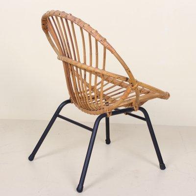 Stupendous Vintage Bamboo Rattan Satellite Tub Chair 1960S Evergreenethics Interior Chair Design Evergreenethicsorg