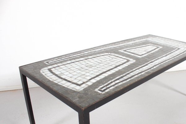 Super Ceramic Mosaic Tile Coffee Table 1970S Ocoug Best Dining Table And Chair Ideas Images Ocougorg