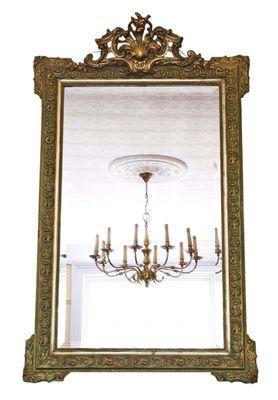 Specchio da parete grande vittoriano, Francia, fine XIX secolo in ...