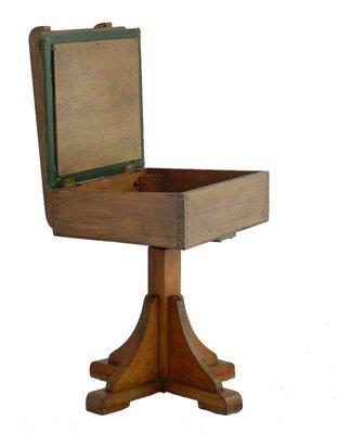 Bureau A Rideau Coulissant Et Chaise Rotative Pour Enfant Art Deco 1930s En Vente Sur Pamono