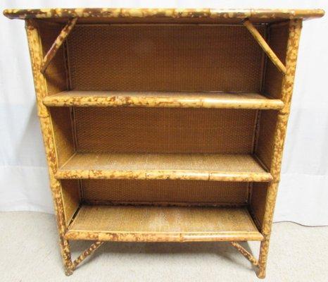 Terrific Antique Bamboo Open Bookshelves Download Free Architecture Designs Scobabritishbridgeorg