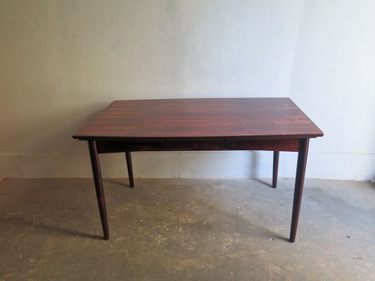 Tavolo da pranzo allungabile in palissandro di Skovby, anni \'60