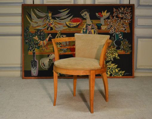 Art Deco Side Chair 1