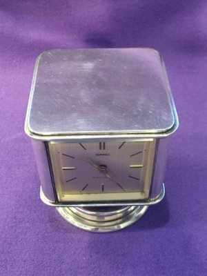 43a6e73f7444 Reloj de estación meteorológica Mid-Century de Dunhill